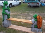 gecko-and-turtle-bench